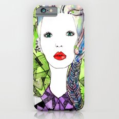 Rainbow Riot Girls. Slim Case iPhone 6s