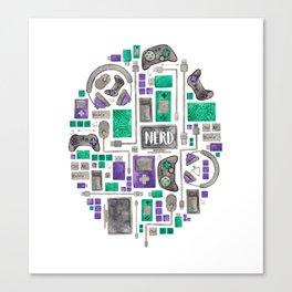 Gamer/Computer Nerd Canvas Print