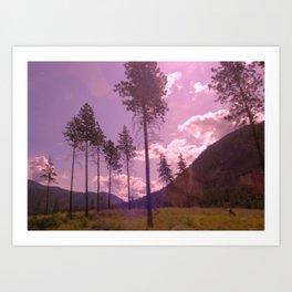 Vagabond Land Art Print