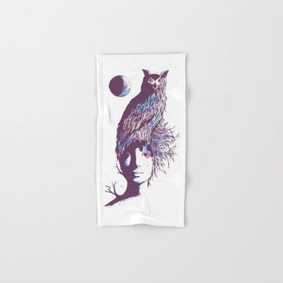 Night Watcher Hand & Bath Towel