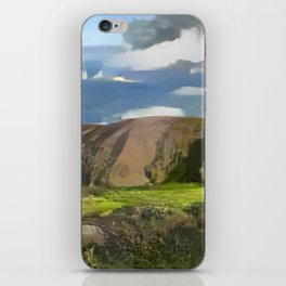 Ayers Rock in the Colors of Dover iPhone Skin