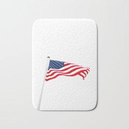 The American Flag (Color) Bath Mat