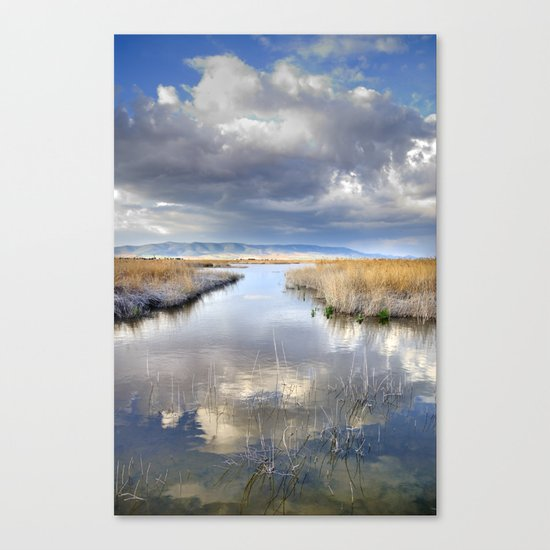 the way for major storms Canvas Print