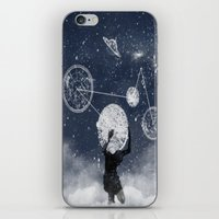 atlas iPhone & iPod Skins featuring Atlas by Slug Draws