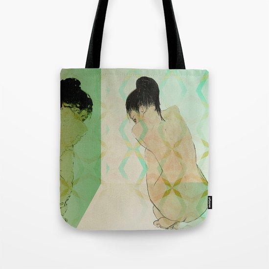 fear of reflection Tote Bag
