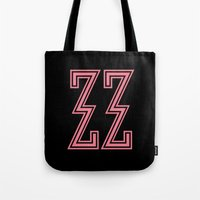 budapest hotel Tote Bags featuring The Grand Budapest Hotel ( Pink ) by Phillip Tajalle