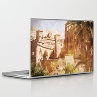 morocco Laptop & iPad Skins featuring Village Morocco by ZenzPhotography