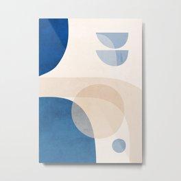 Abstract Art / Shapes 37 Metal Print