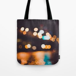 portland lights Tote Bag