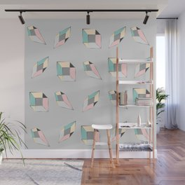 Geometric figures of colors Wall Mural