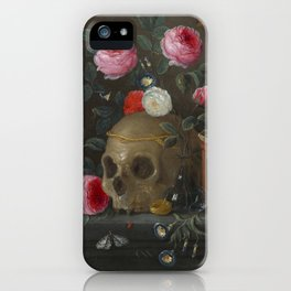 Jan van Kessel Vanitas Still Life iPhone Case