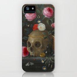 Jan van Kessel Vanitas Still Life iPhone Case