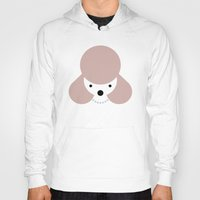 poodle Hoodies featuring Pedigree: Poodle by Wise Idea