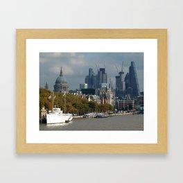 Thames: City of London Framed Art Print