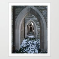 Goodhart Arches Art Print