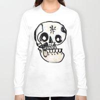 calavera Long Sleeve T-shirts featuring Calavera by Happy Tao