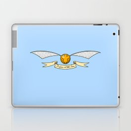 The Golden Snitch Laptop & iPad Skin