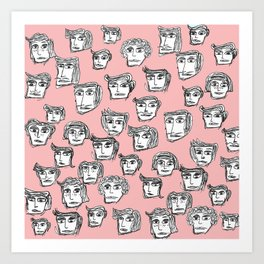 People are watching -4- Art Print