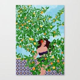 Sevilla girl Canvas Print