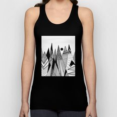 Patterns in the mountains II Unisex Tank Top