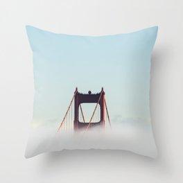 San Francisco Golden Gate Bridge, California Throw Pillow
