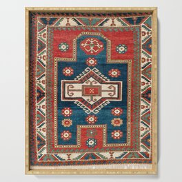 Fakhralo Kazak  Southwest Caucasus Niche Rug Print Serving Tray