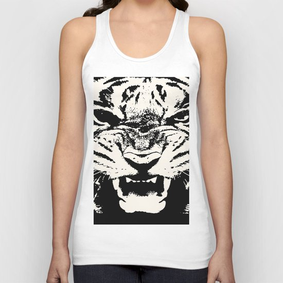 White Tiger Vector by taiche