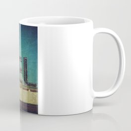 Grunge Motel Sign Coffee Mug