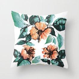Altar Tropical Throw Pillow
