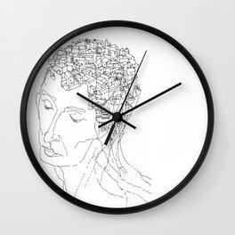 La Citta' Dentro Wall Clock