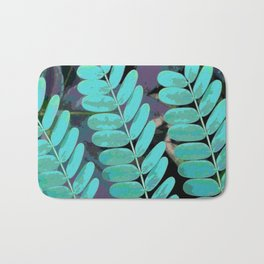 Young Leaves Bath Mat