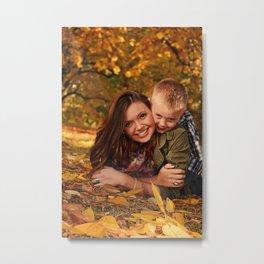 Family Shoot-Bree & Silas7 Metal Print