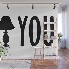 I Lamp You - Deanoru Wall Mural
