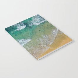 Ocean from the sky Notebook
