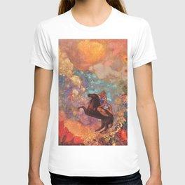 """Odilon Redon """"Muse on Pegasus"""" T-shirt"""