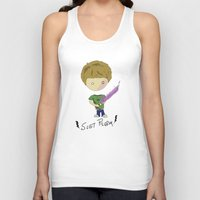 scott pilgrim Tank Tops featuring Scott Pilgrim by Deep Search