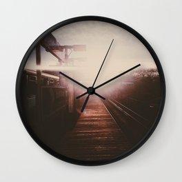 CTA Sunset Wall Clock