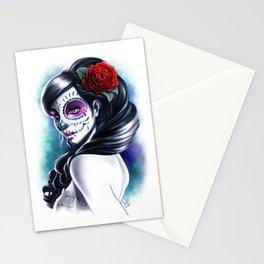 Catrina Girl Stationery Cards