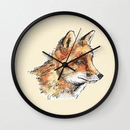 Fox Casual Wall Clock