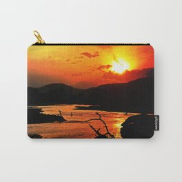 African River Sunset Carry-All Pouch