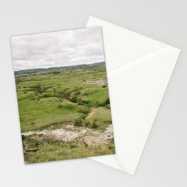 North Dakota Fields of Green Stationery Cards