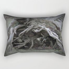 The enchanted fallen tree Rectangular Pillow