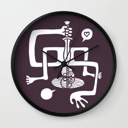 The Fate of Narkissos Wall Clock