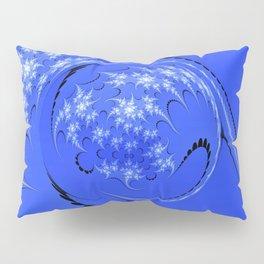 Blue and White Morph Pillow Sham