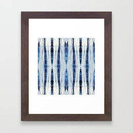 Nori Blue Framed Art Print