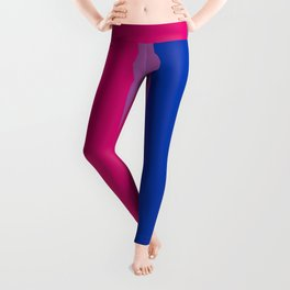 Bisexual Pride Flag LGBTQ Bi Pride Leggings