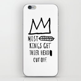 Most Young Kings iPhone Skin