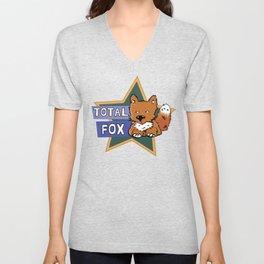 Total Fox Unisex V-Neck