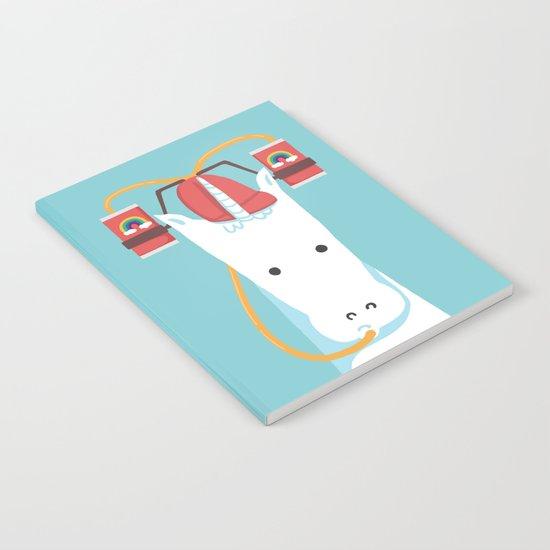 Rainbow Juice Notebook