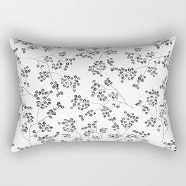 Gisophila white Rectangular Pillow
